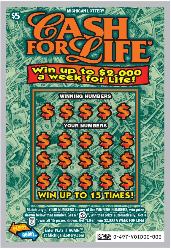 cash for life lotto