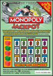 Michigan Lottery Monopoly Jackpot IG676