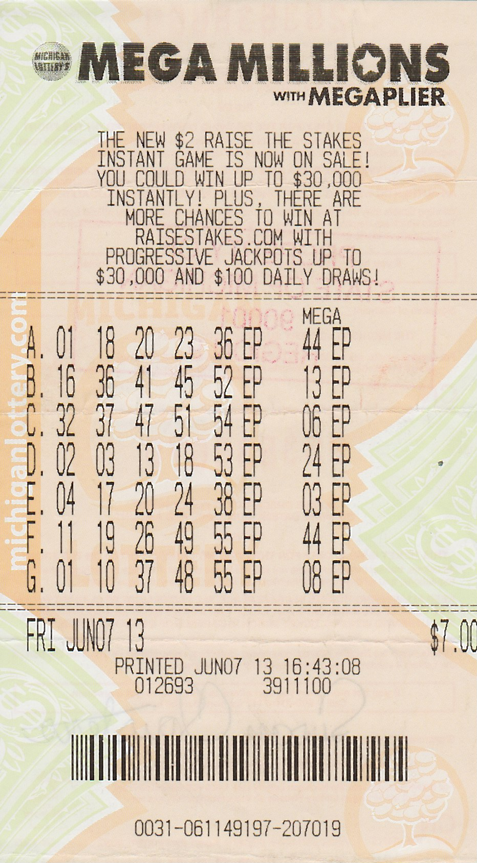 Mega Millions Winner Claims $250,000 Prize from Michigan ...
