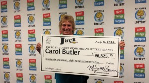 Carol Butler The Jack Winner
