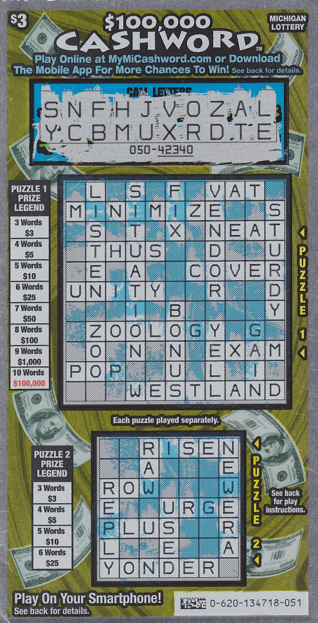Isabella County Man Cashes In On 100 000 Prize Playing