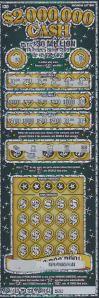 Winning $2,000,000 CA$H Ticket