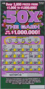 02.25.15 50X The Cash $250,000 Anonymous Saginaw County