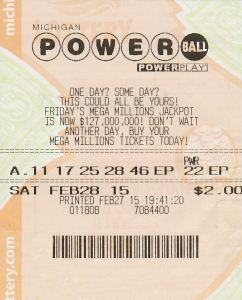 Steven Cosby, Jr. matched the five white ball numbers in Saturday's Powerball drawing to win $1 million.