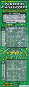 Winning Cashword Ticket