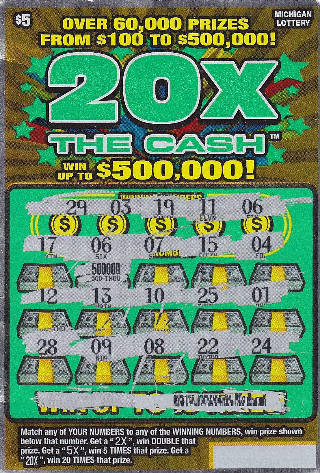 how to win cash 5 nc lottery