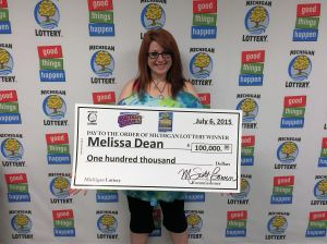 07.06.15 Triple Your Luck IG# 724 $100,000 Melissa Dean Oakland County