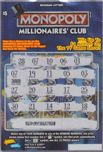 08.31.15 Monopoly Millionaires' Club IG# 740 $300,000 Anonymous Wayne County