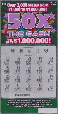 08.31.15 50X The Cash IG# 715 $250,000 Anonymous Gratiot County