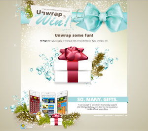 Unwrap a Gift Page
