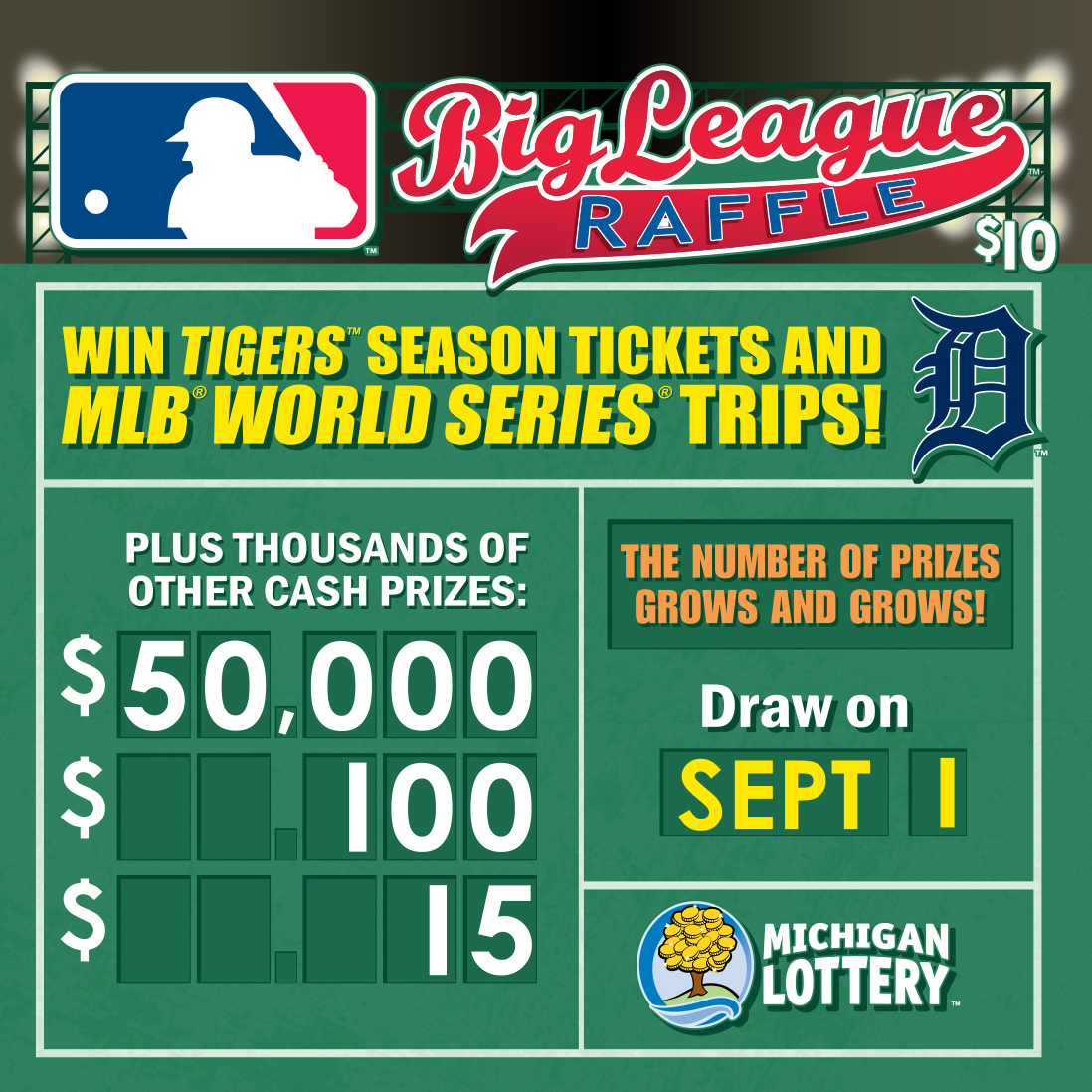 swing batter batter michigan lottery s big league raffle game on swing batter batter michigan lottery s big league raffle game on now