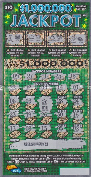 06.07.16 $1,000,000 IG # 723 $1,000,000 Jackpot Dawn Cooley Kent County