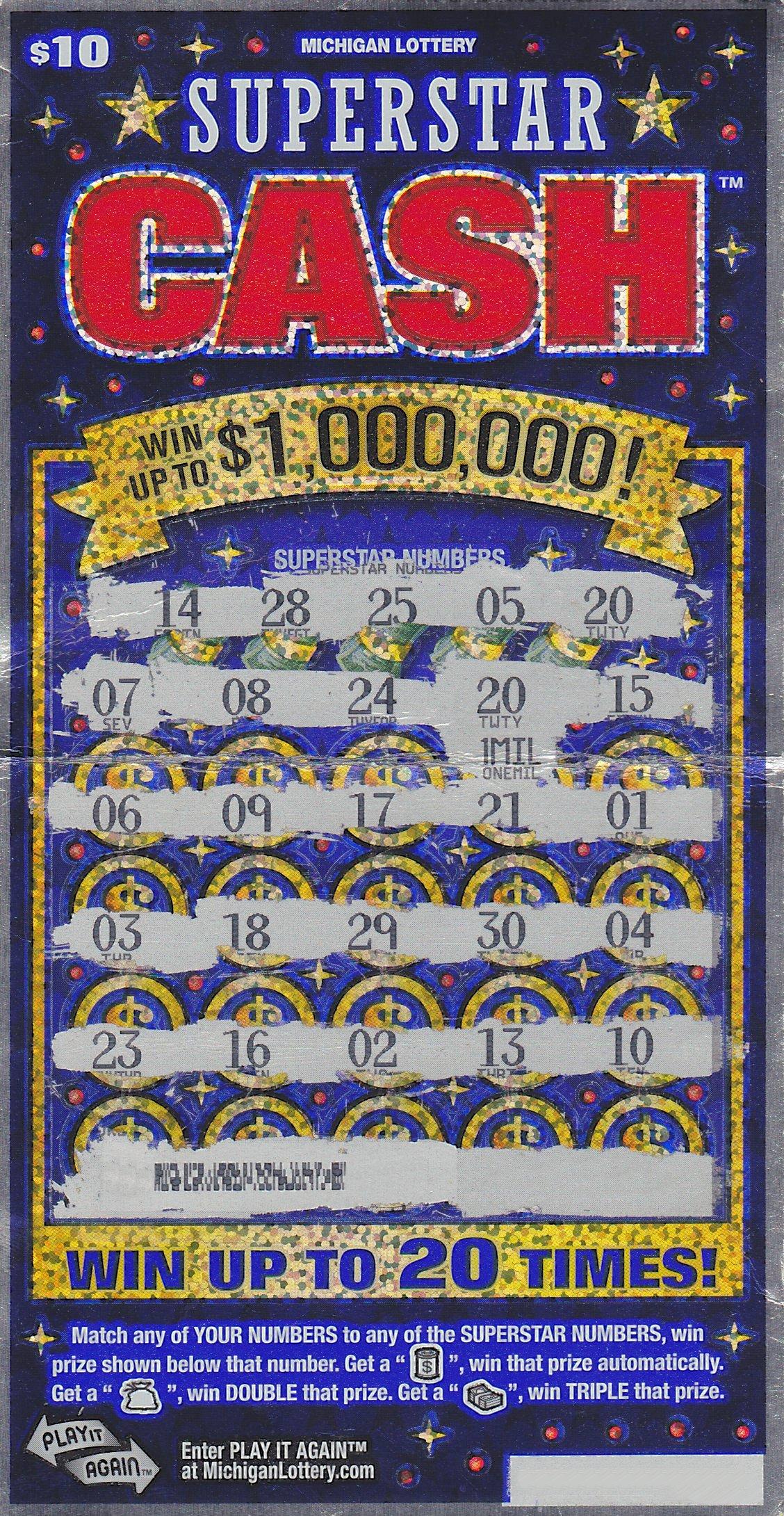 Flint Man Wins $1 Million Playing Michigan Lottery's ...