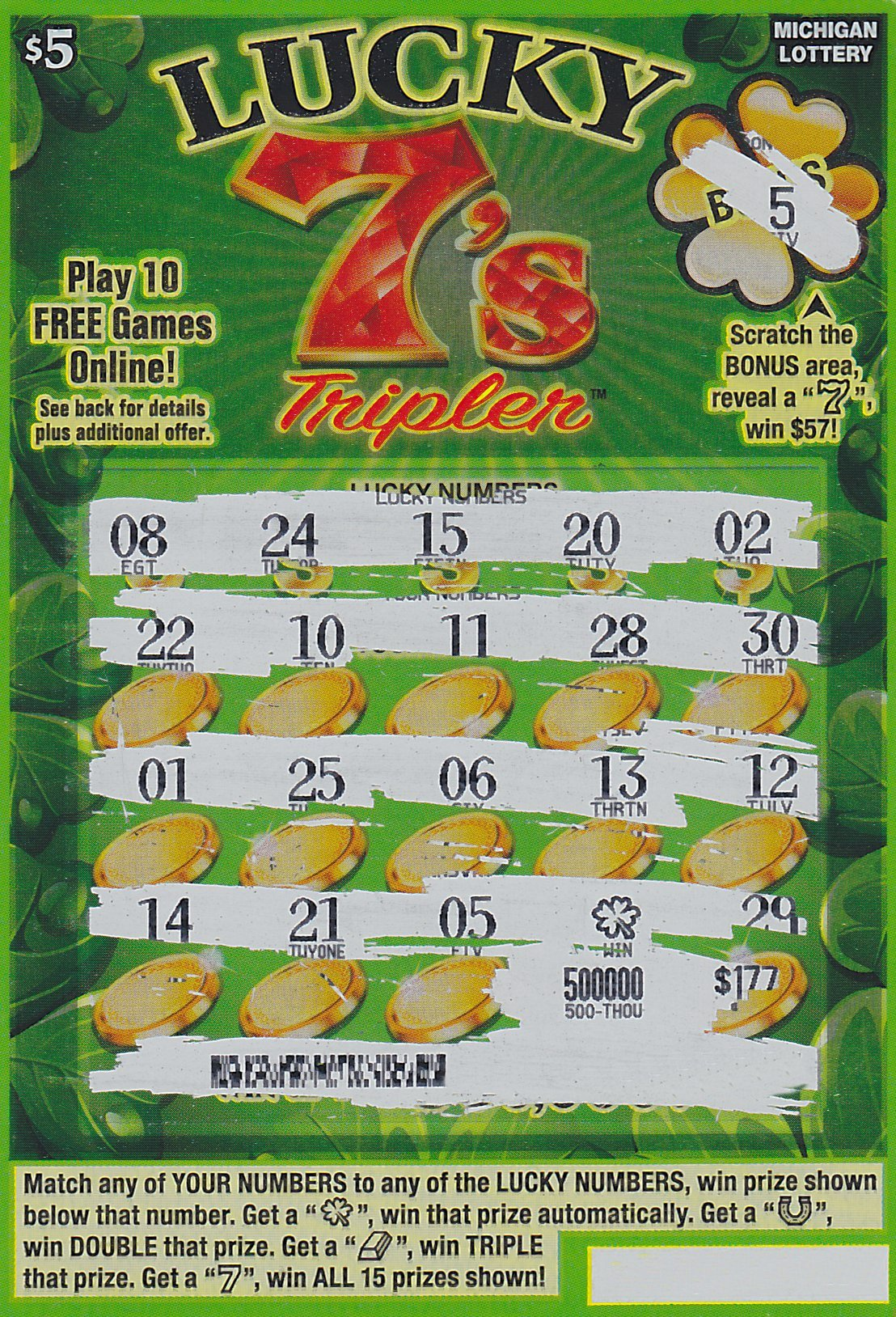 lucky 7 slots waterford mi