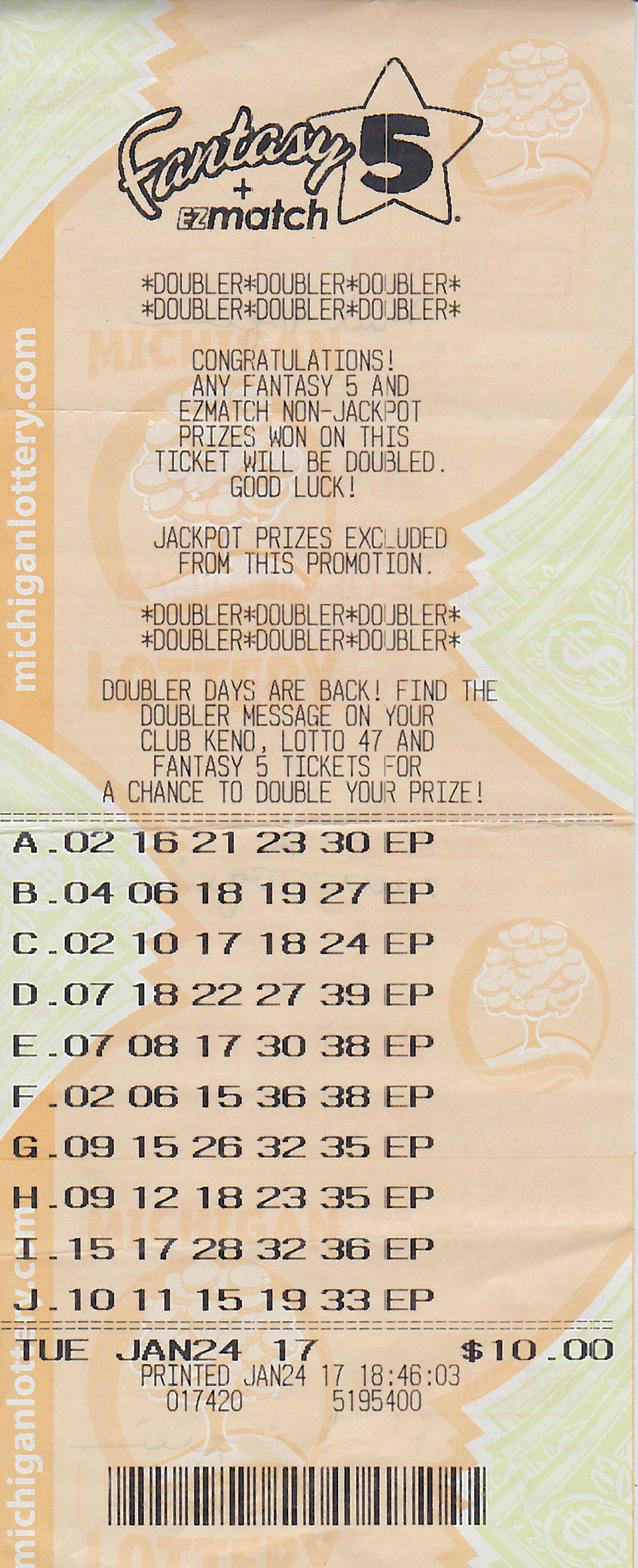 Michigan marquette county gwinn - Marquette County Man Wins 133 892 Fantasy 5 Jackpot From The Michigan Lottery