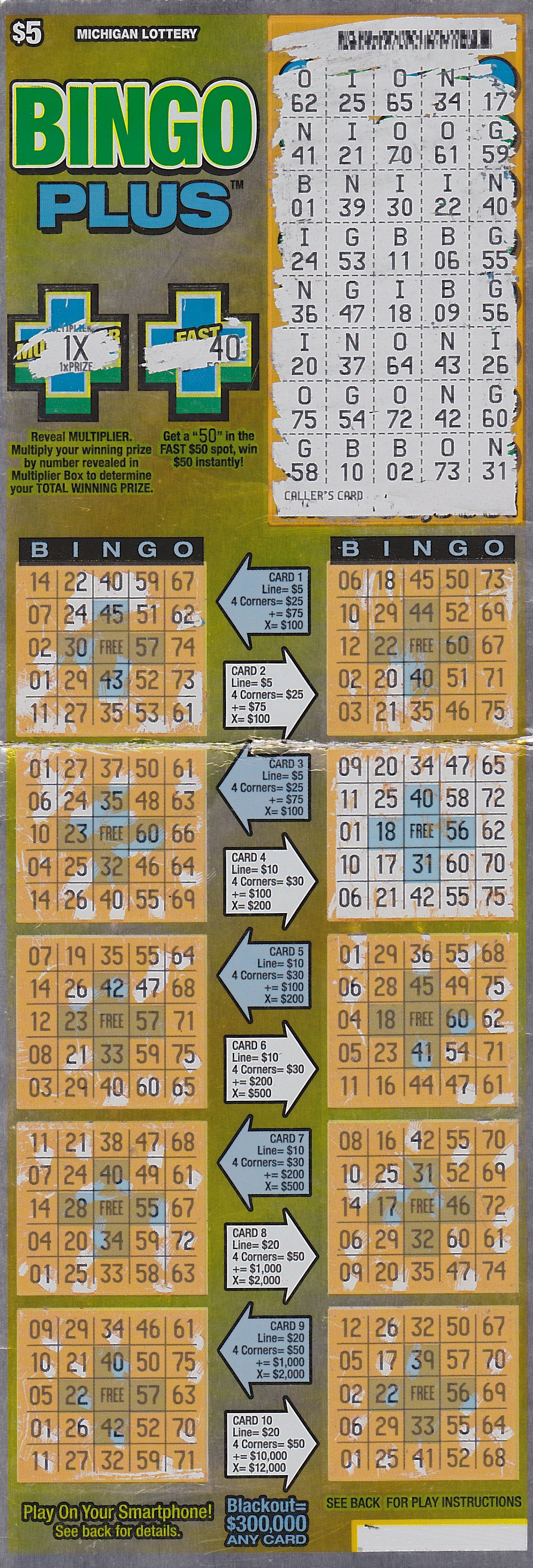 how to play michigan lottery