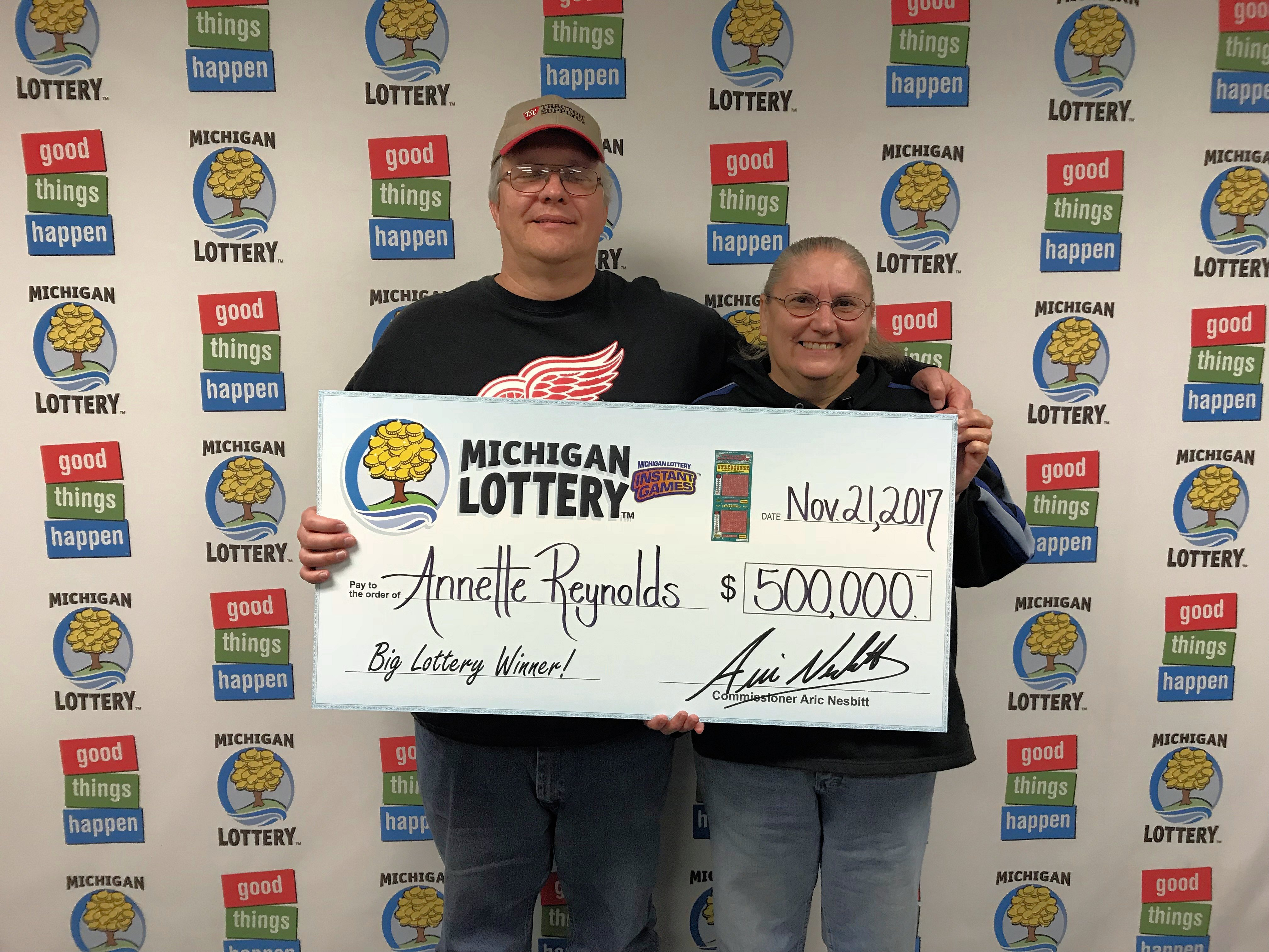 A Bay County man says winning 500000 playing the Michigan Lotterys Triple Bonus Cashword instant game is going to change his life